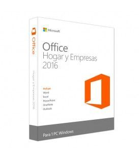 Microsoft Office Home and Business 2016 / Licencia 1 PC