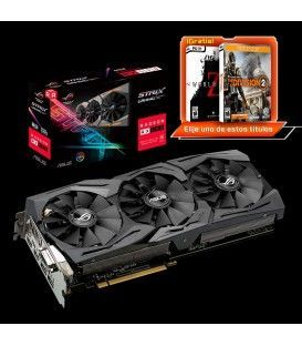 ASUS ROG-STRIX-RX590-O8G-GAMING (8GB GDDR5)