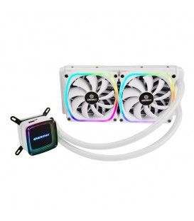 ENERMAX AQUAFUSION 240 WHITE ADDRESSABLE RGB (240MM)