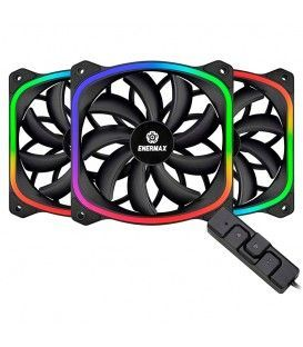 ENERMAX SQUARE ADDRESSABLE RGB 12CM FAN 3 P
